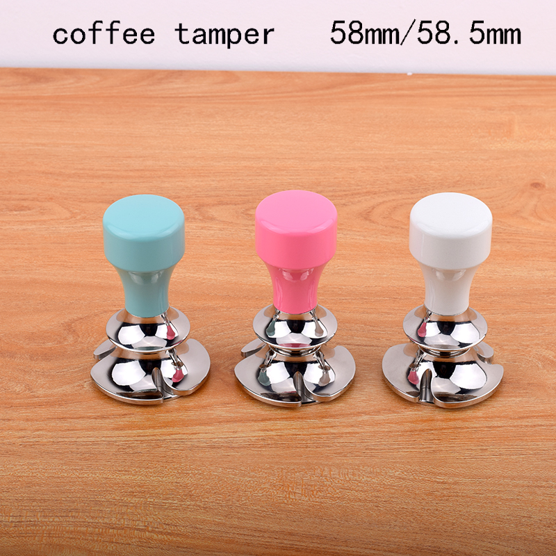 espresso calibrated coffee tamper with steady pressure anti pressure deviation design Adjustable depth design58mm58 5mm
