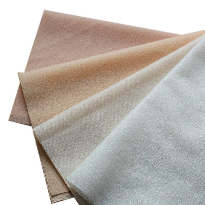 40x50cm 4 cores diy tecido de pele de boneca lã tecidos de veludo escovado pano para costura costura material brinquedos malha nap telhas tissus