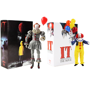 Image 1 - Neca Stephen King S Het Pennywise Pvc Action Figure Collectible Model Toy