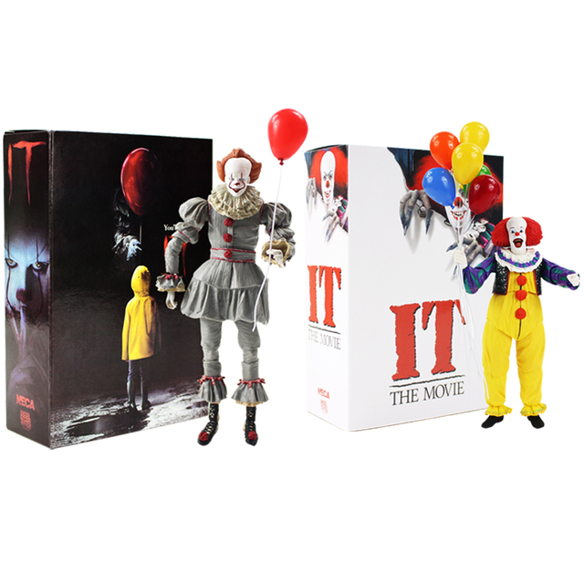 Neca Stephen King S Het Pennywise Pvc Action Figure Collectible Model Toy