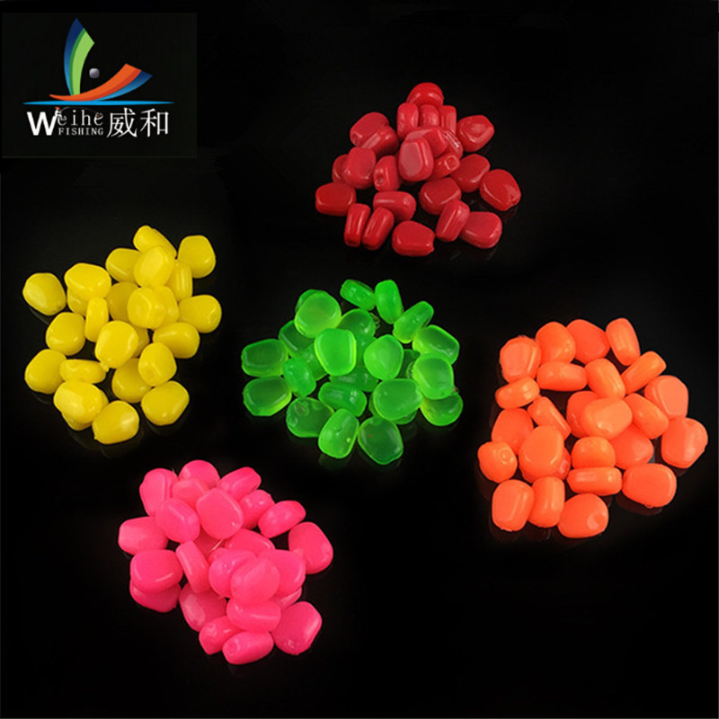 где купить 20 Pcs/Lot  High Quality Artificial Soft Baits Colorful Band Have Salt smell Lures With The Smell of  Corn Bait For carp Fishing по лучшей цене
