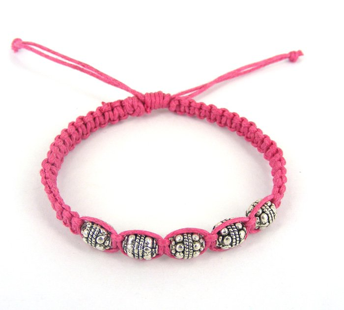 Weave Rope String Small Beads Friendship Bracelets 24pcs Lot Handmade Charm Strand Fashion Jewelry Free Shipping In From