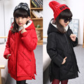 Girls Winter Coat Real 2016 Girl New Winter Thcken Down Children Jacket Girls In Long Thickening Baby Big Children's Wear Coat