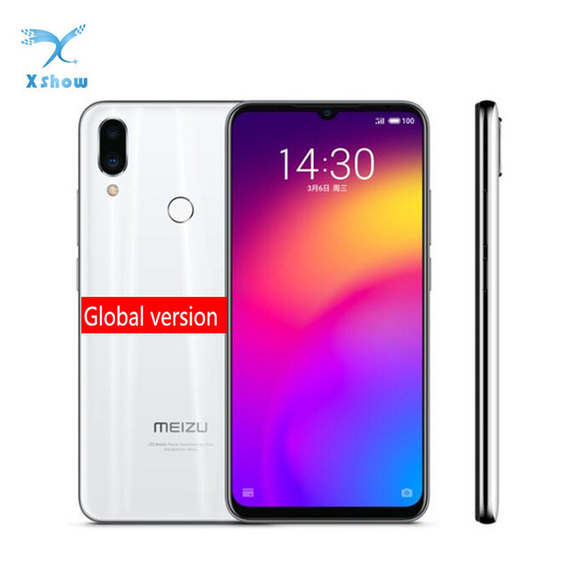 "Versão global meizu nota 9 4 gb ram 64 gb rom smartphone snapdragon 675 6.2 ""hd tela cheia dupla câmera real"