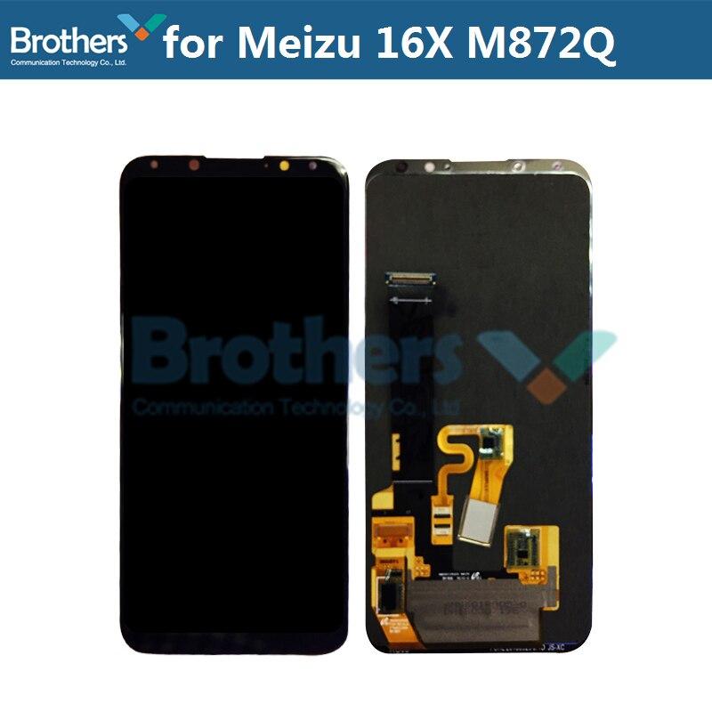 Écran LCD pour Meizu 16X16 X M872Q/M872H écran LCD pour Meizu 16X LCD assemblée écran tactile numériseur téléphone remplacement testé