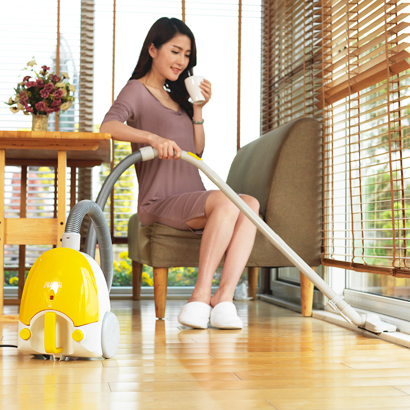 Household cleaners Mites strong suction Mini Small Horizontal carpet cleaner jiqi vacuum cleaner household small strong divide mite handheld pusher dog and cat pet hair carpet suction machine