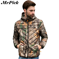 Thin Hooded Down Coat Men Ultralight Camouflage Jacket 2015 Fashion Brand 90% Duck Down Coat Z1843-Euro