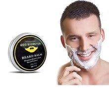 Men Moustache Cream Beard Wax Balm Hair Loss Products Leave-