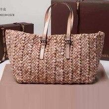 free shipping  women's spring handbag fashion cross-body shoulder bag sheepskin Woven bag The popurality package