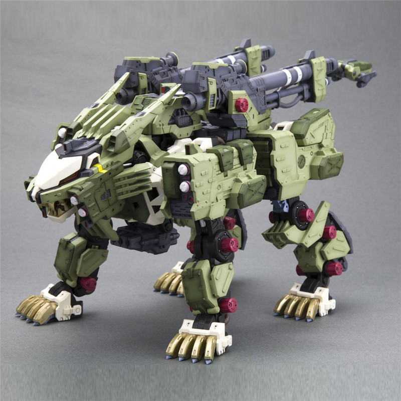 Anime Zoids BT Model Rz-041 Liger Zero Panzer 1/72 Gundam Robots Hot Toys Kids Action Figure Assembled figurine juguetes Gift mg assembly model 1 100 strike gundam techmarine custom action figure robots anime assembled the yearning for peace in the world