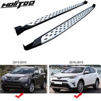 NEW ARRIVAL running board side bar side step for Toyota RAV4 2013 2019,thick Aviation Aluminum Alloy,ISO9001 quality guarantee