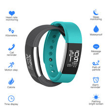 SunKinFon SF1 Smart Bracelet Watch Wristband Fitness Heart Rate Tracker Pedometer Smarband for IOS Android Phones PK Mi Band 2(China)