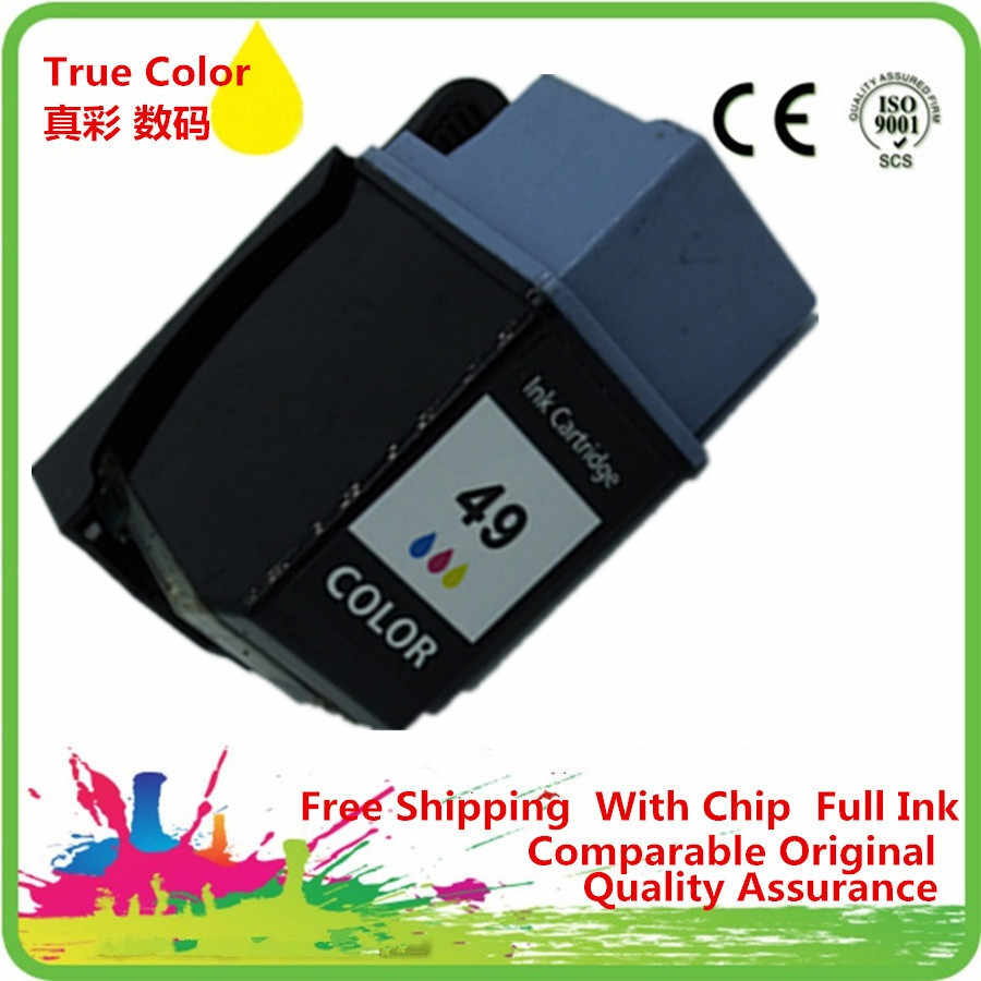 Cartuchos de tinta Remanufactured Para 49XL HP49XL 680c Deskwriter 694c 690c PSC 370 380 Officejet 500 520 570 580 590 600 610 625