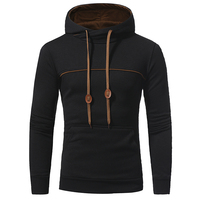 NEW 2017 Fashion Hip Hop Men Hoodies Brand Casual Men Hooded Casual Solid Color Hoodies Sweatshirt