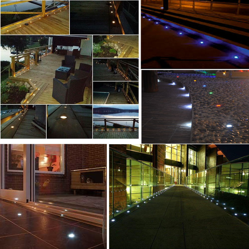 Dhl free50pcslots low voltage deck step lighting for outdoor dhl free50pcslots low voltage deck step lighting for outdoor garden recessed buried lamp for decoration 12v ip67 in led underground lamps from lights aloadofball Choice Image