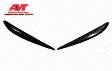 Реснички для Volkswagen Touareg 2014-для бровей на фары брови век Обложка пара украшения автомобиля аксессуары пластик abs