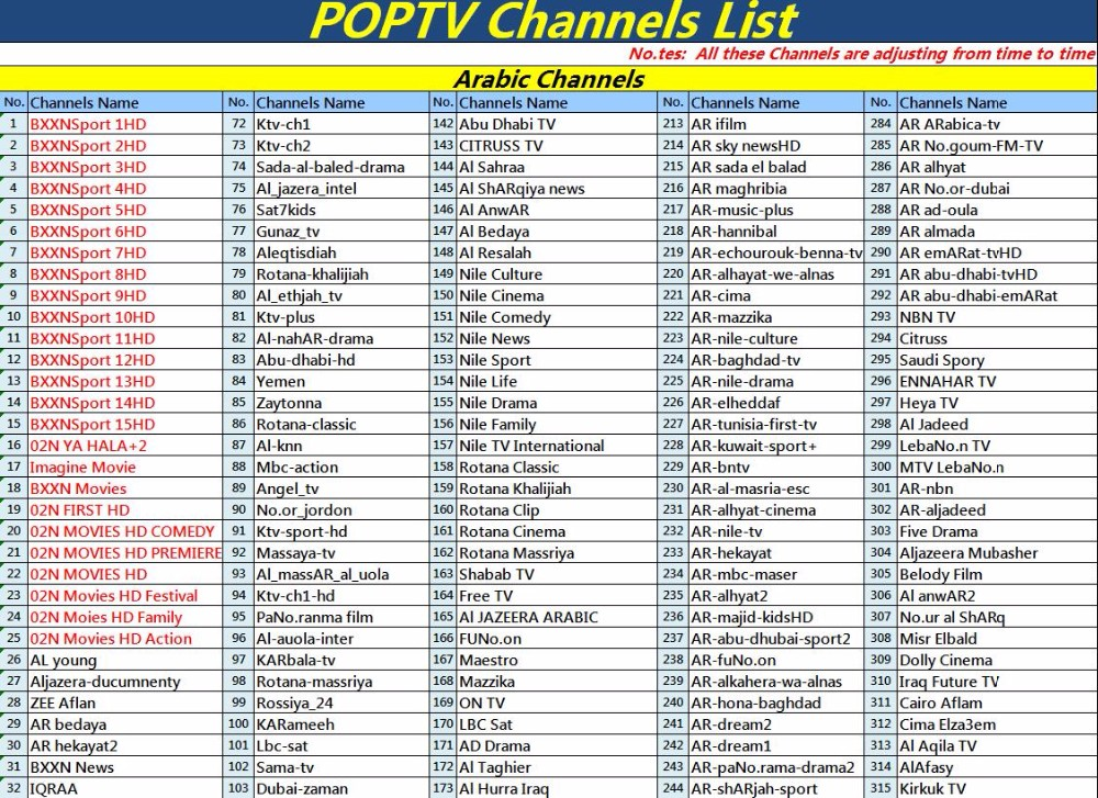 POPTV Arabic 1