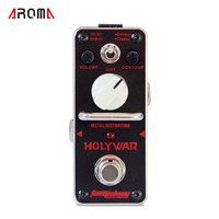 AROMA AHOR 3 HOLY WAR Metal Distortion Mini Analogue Effect True Bypass