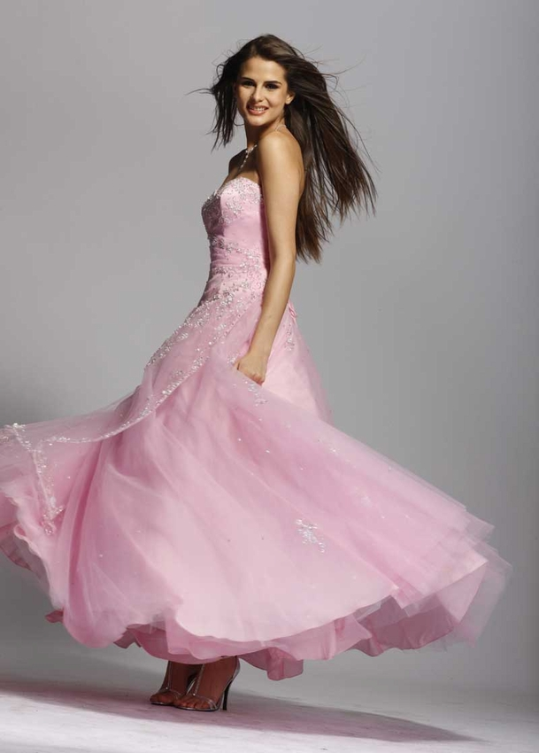 Aliexpress.com : Buy On Sale ! Stunning Pink Sweetheart Prom Dresses ...