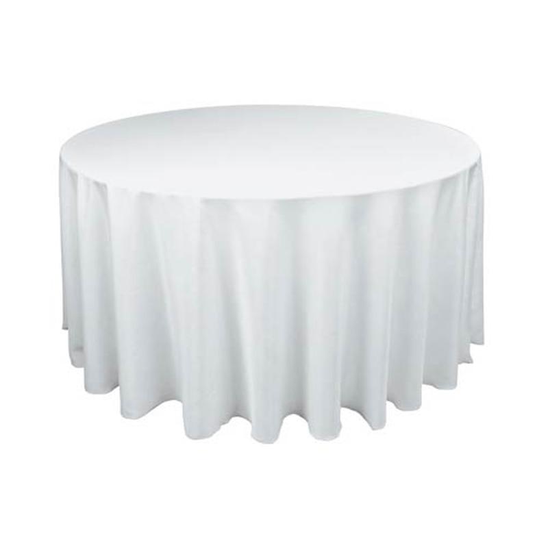 """90 """"/228 cm ronde satin nappe couverture de table nappe oilproof"""