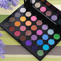 Marca 28 diversos moda de nueva tierra colores cosméticos Mineral pigmento de sombra de ojos paleta de sombra de ojos para mujeres