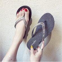 SUOJIALUN 2019 Women Summer Flip Flops Slippers Ladies Flat Jelly Fashion Shoes Female Clip Toe Outdoor Thong Beach