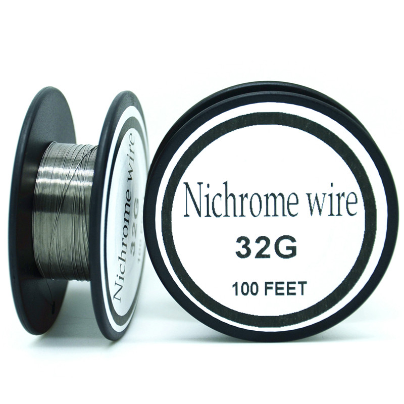 Nichrome wire 32 gauge 100 ft 02mm cantal resistance resistor awg nichrome wire 32 gauge 100 ft 02mm cantal resistance resistor awg diy atomizing core in cable winder from consumer electronics on aliexpress alibaba greentooth Images