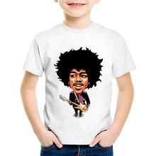 Jimi Hendrix Printed Children Boys/Girls