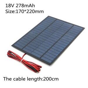 Image 3 - Panel Solar portátil, 18V, 10W, 5W, 4,5 W, 1,5 W, celda solar, bricolaje, para teléfonos móviles, linterna, juguetes, kits electrónicos, batería solar