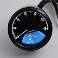 Hot hothot LCD Digital Velocímetro Tacômetro Odômetro Da Motocicleta Moto 12000 RPM se16 dropshipping