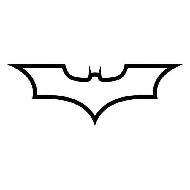 19 6 8cm batman logo dark knight fashion decal car body car styling