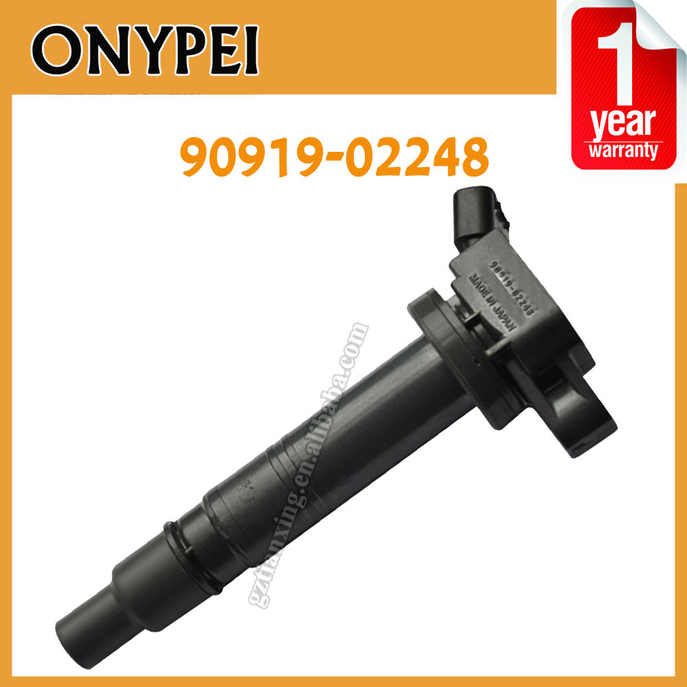 High Quality <font><b>9091902248</b></font> Auto Coil Part Number 90919-02248 Ignition Coils For Toyota Tundra Tacoma FJ Cruiser Lexus 90919 02248 image