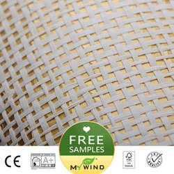 2019 MEIN WIND Goldene gewinde Luxus Tapete Papier weave grasscloth 3D tapeten designs europäischen vintage wand papiere klassische