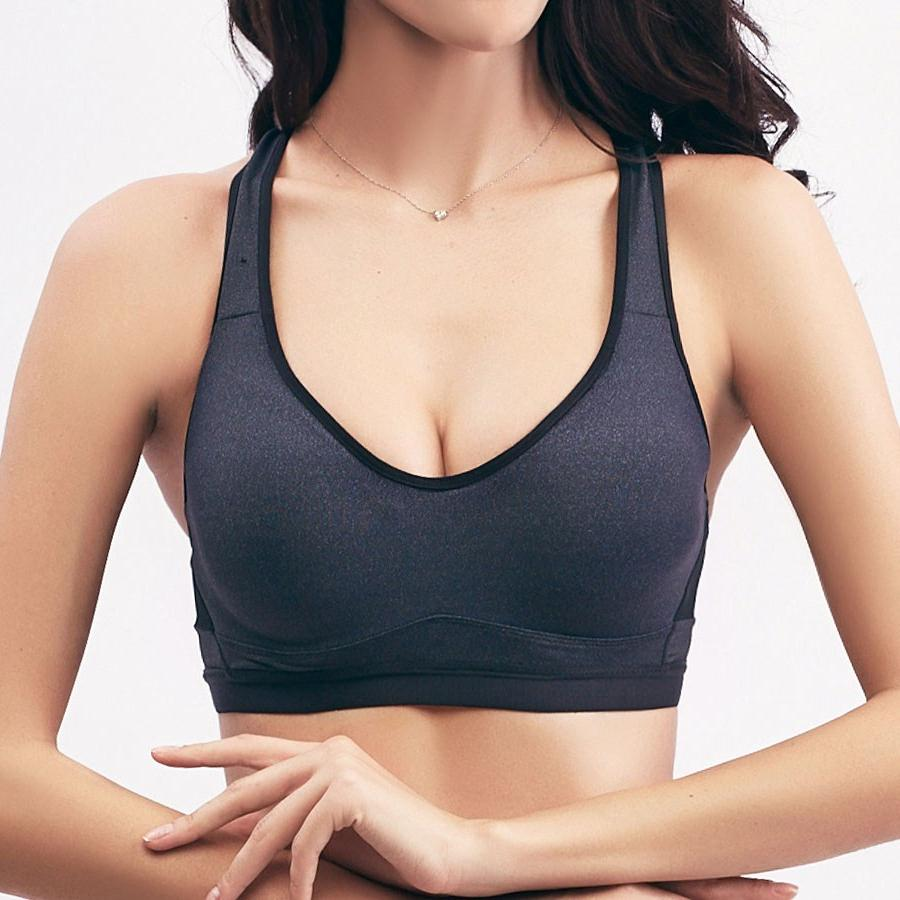 a6be2bf09b56b Women Summer Seamless Rims Sports Brassiere Yoga Fitness Padded Running Bra  Jogging Plus Size Crop Top Quick Dry Camo Sports Bra-in Sports Bras from  Sports ...