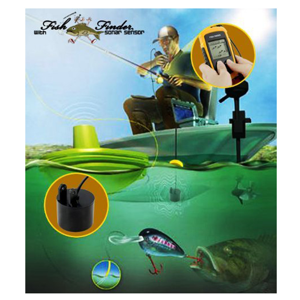 aliexpress : buy hot sale 100m depth portable fish finder, Fish Finder