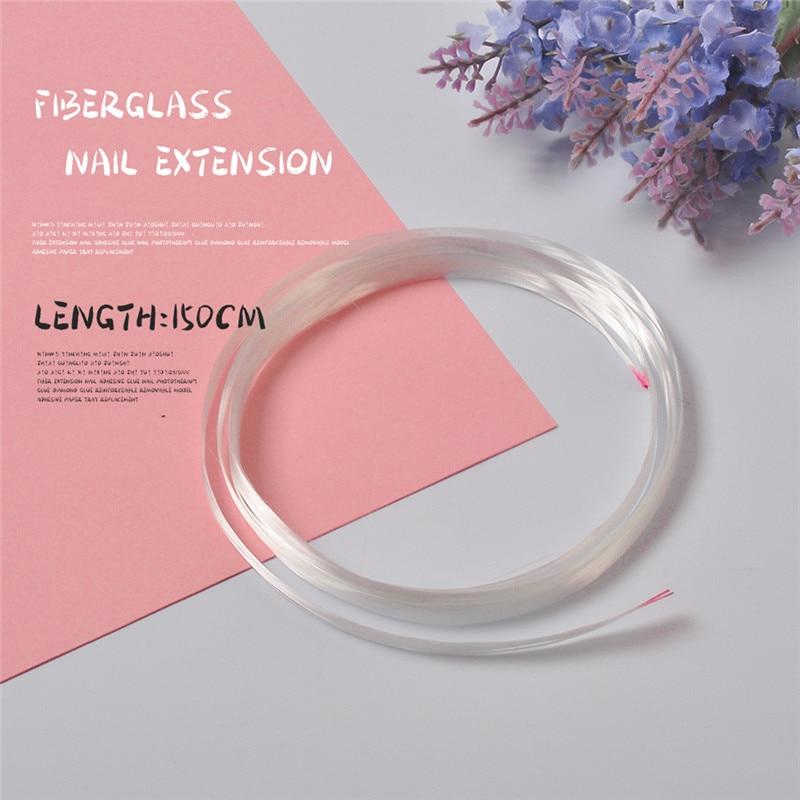 1m/1.5m/2m Professional Nail Fiberglass Nail Form Nail Quick Extension UV Gel DIY Salon Nail Accessories Nail Spa Tool