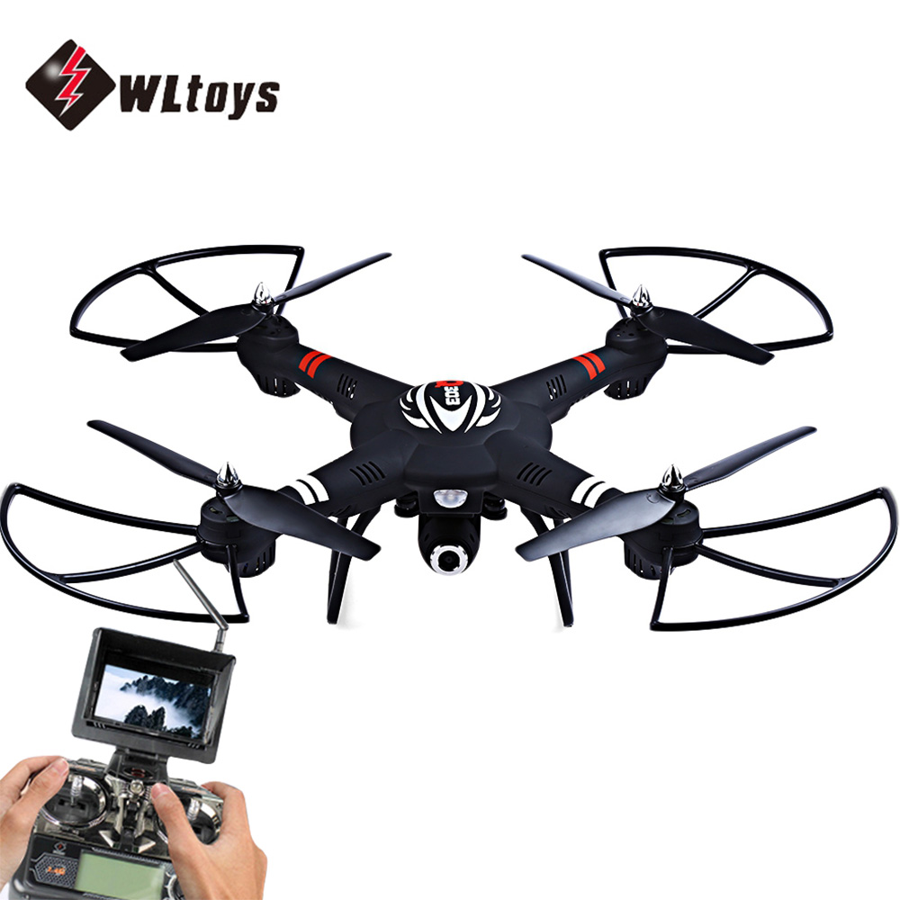 Original WLtoys Q303 RC Helicopters 5.8G FPV HD Camera 4CH 6-Axis Gyro RTF RC Quadcopter Toy VS Hubsan H501S Cheerson CX-20 get an extra battery original hubsan fpv x4 plus h107d with 720p hd camera 6 axis gyro rc quadcopter rtf in stock