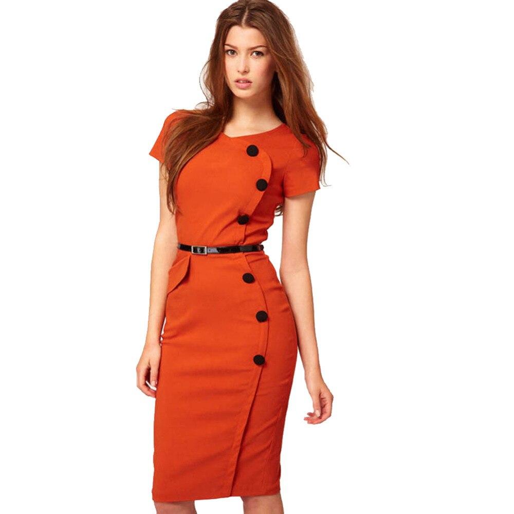 Oxiuly Frauen Maxi Kleider Plus Größe Fashion V ausschnitt Kurzarm ...