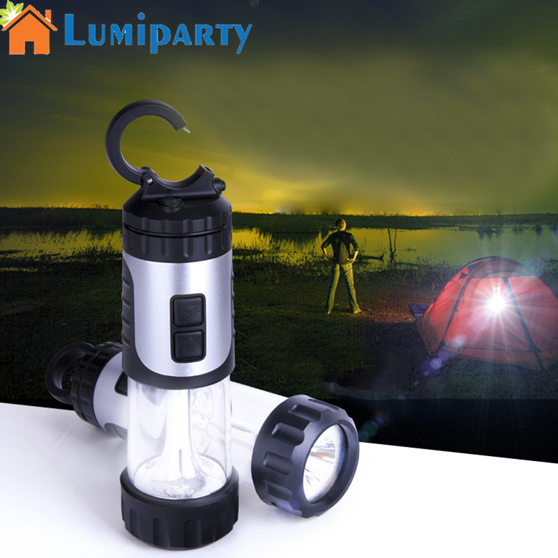 LumiParty Outdoor Portable Flashlight Mini Plastic Hand Power Emergency Lights Generation Environment-Friendly Torch Lamp цены