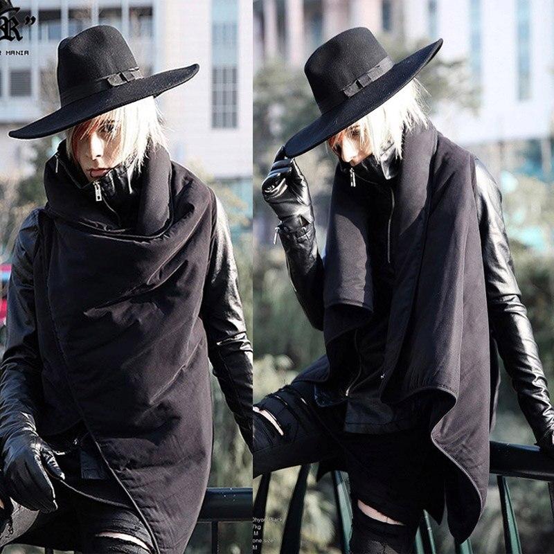 High Quality Sleeveless Men Avant Garde Edge Unbalance Designers Outwear Jacket Diabolic Keep Warm Vest Waistcoat