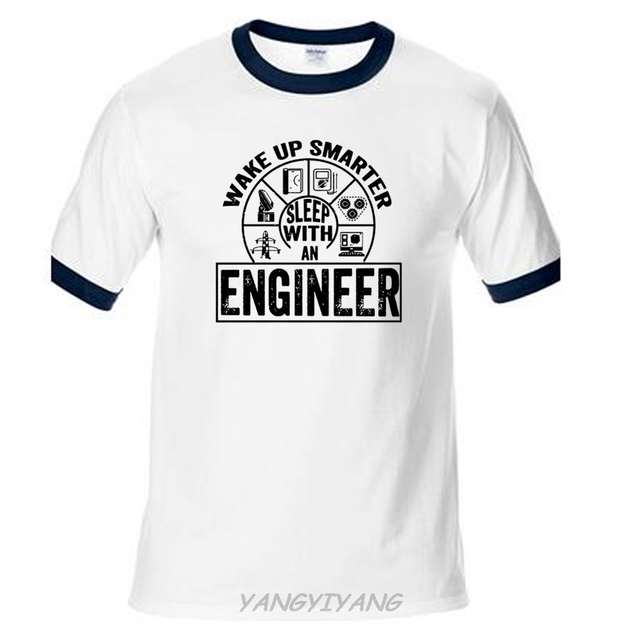 39b76f26 raglan Shirts Homme Novelty T shirt Men Engineer T-Shirt Funny Engineering  Tee Shirt Gift