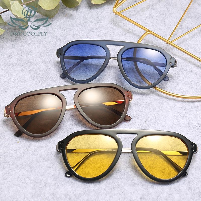 D&T 2019 New Sunglasses Shield Shape Fashion Sunglasses MultiColor Simple Men Women Brand Designer Vintage Sunglasses For Male