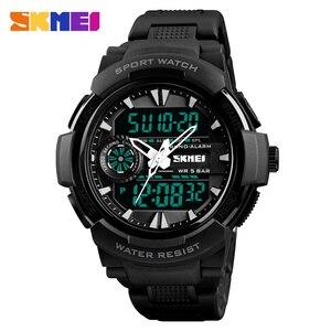 Image 2 - SKMEI 1320 цифровой 2 раз подсветкой Наручные часы хронограф жизнь Водонепроницаемый часы Для мужчин Для женщин Fshion Повседневное браслет