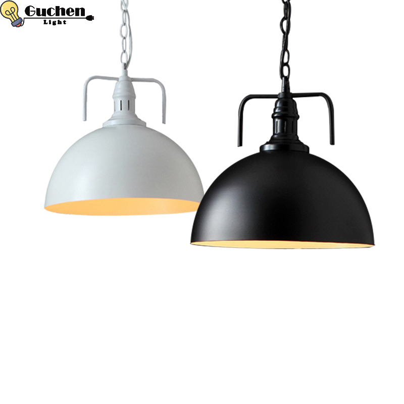 LED Hanglamp Vintage Loft Pendant Lights/Pendant Lamps Iron Suspension luminaire Nordic bedroom/Kitchen island Hanging Lightings