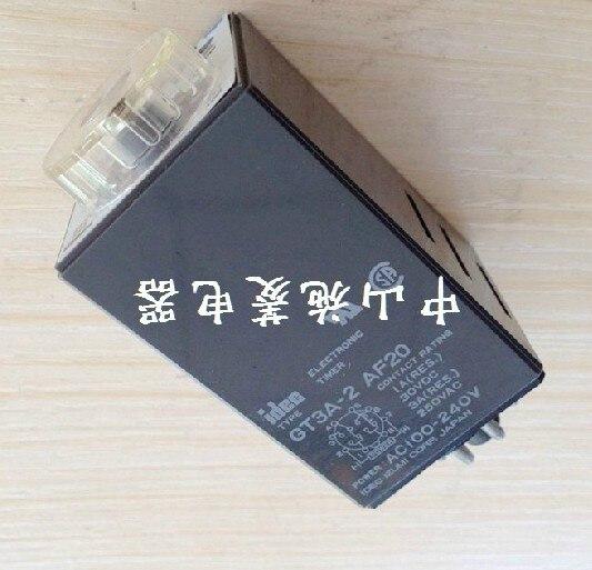 Zhongshan Shi Ling supply original IDEC Izumi relay GT3A-2 AF20 voltage AC100-240V