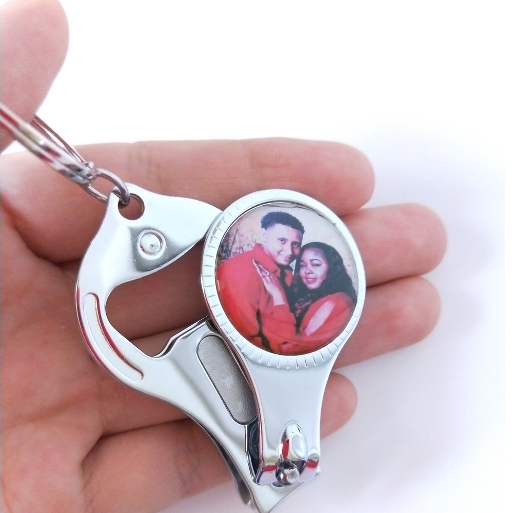 150Pcs Personalized Wedding Gifts For Guests Keychain/Nail Clipper ...