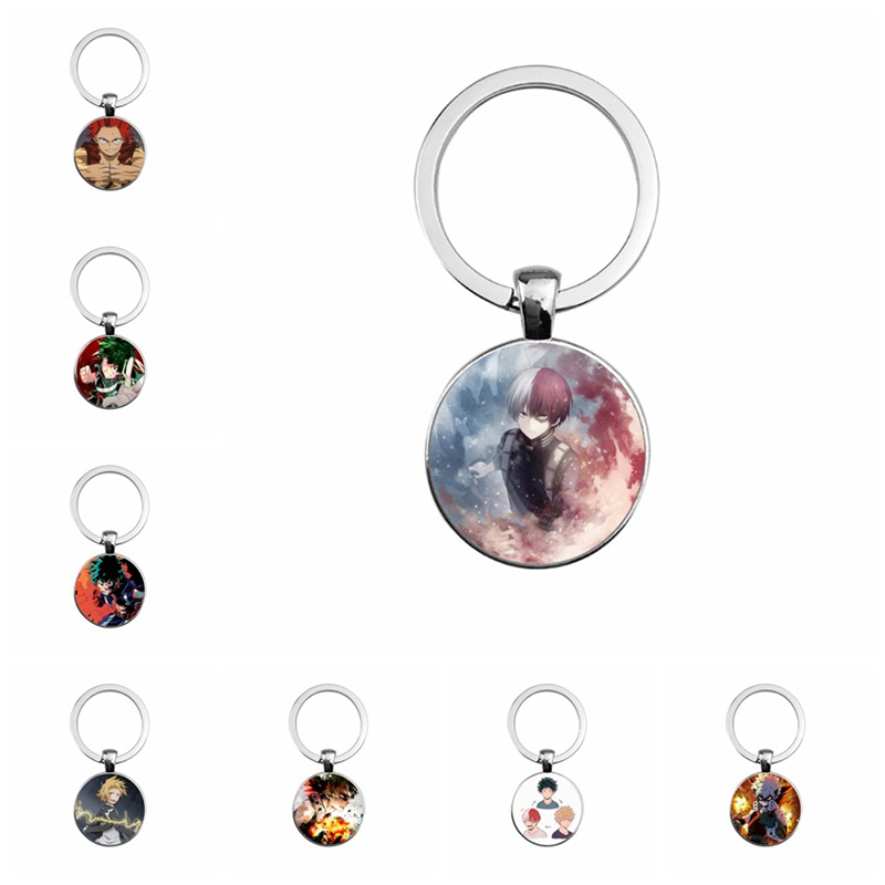 My Hero Academia My Hero Academy Green Valley Forever Keiji Ruier Lang Shang Ming Electric Time Gems Keychain Pendant