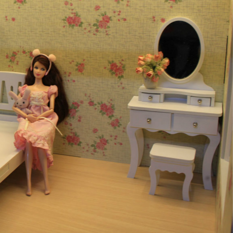 1:6 BJD doll miniature furniture European dressing table can be customized - Blyth FR momoko1:6 BJD doll miniature furniture European dressing table can be customized - Blyth FR momoko