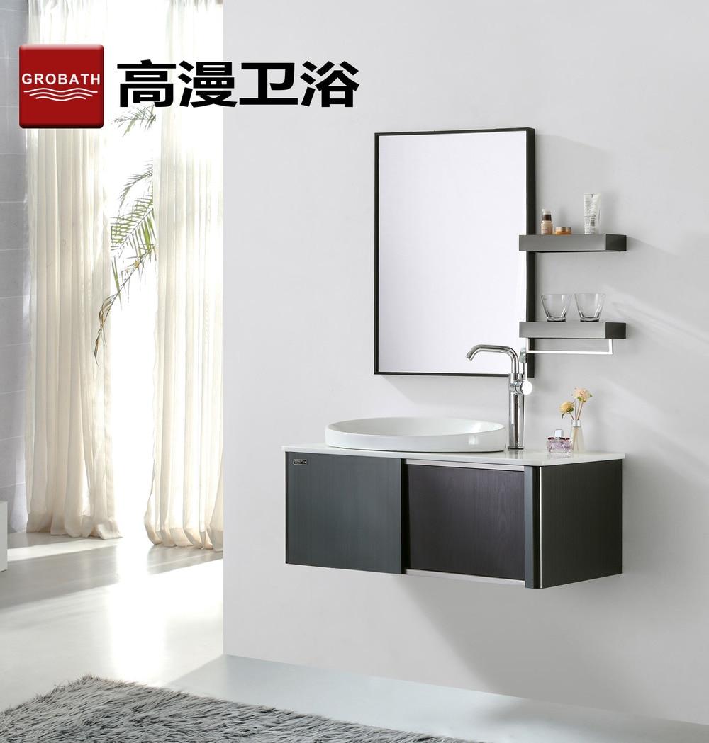 304 stainless steel bathroom cabinet bathroom cabinet wash basin ...