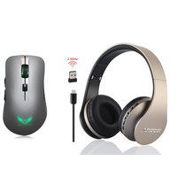 Rechargeable 2 4G 2400 USB DPI Wireless Portable Mouse 6 Button Optical Office Mice NEW Bluetooth